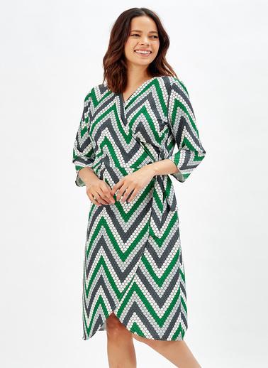 Sense Elbise Yeşil